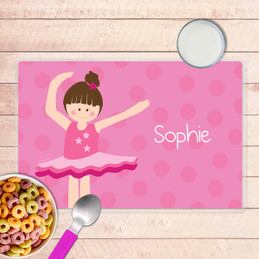 Love For Ballet Kids Placemat