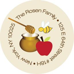 Honey bees label