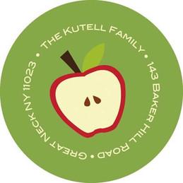 Shana Tova apples label