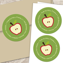 Shana Tova apples label