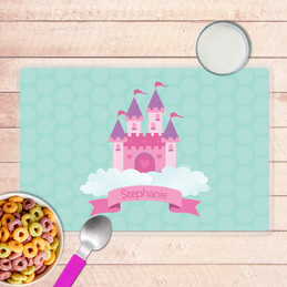 A Castle in the Sky Kids Placemat