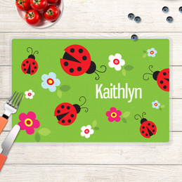 Curious Lady Bug Kids Placemat