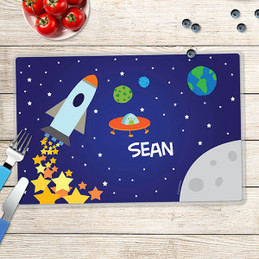 Rocket Launch Kids Placemat