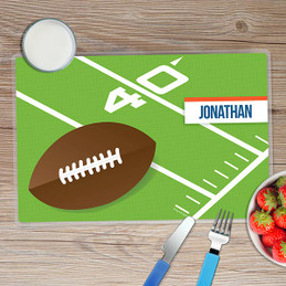 Football Fan Kids Placemat
