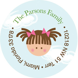 Kid Address Labels - Stroll In The Park