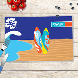 Surf the Waves Kids Placemat