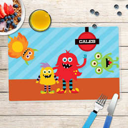 Monster Attack Kids Placemat