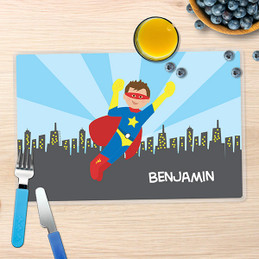 A Cool Superhero Kids Placemat