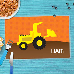 Fun Tractor Kids Placemats