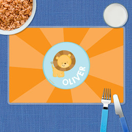 Cute Baby Lion Kids Placemats