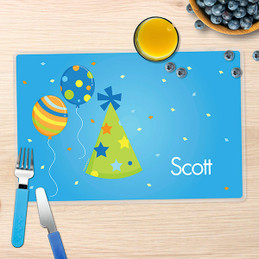 Boy Bday Cheers Kids Placemats
