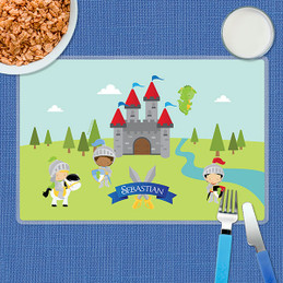 The Three Knights Kids Placemat