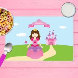 Sweet Little Princess Kids Placemat