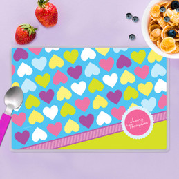 Happy Hearts Kids Placemat