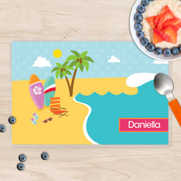 Fun at the Beach Kids Placemat