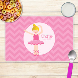 Sweet Ballerina Kids Placemat
