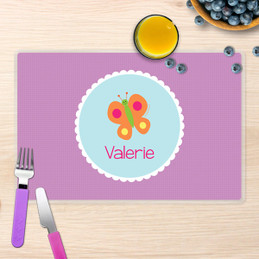 Sweet Butterfly Kids Placemat