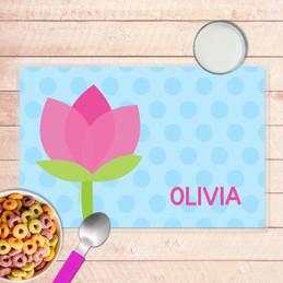 Cute Tulip Kids Placemat