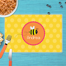 Fly Little Bee Kids Placemat