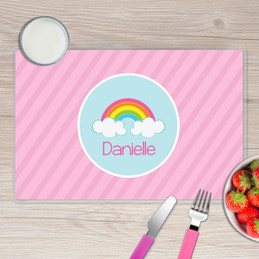 A Rainbow in the Sky Kids Placemat