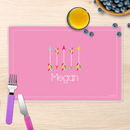 Colorful Arrows Kids Placemat