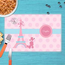 Ohh La La Paris Kids Placemat