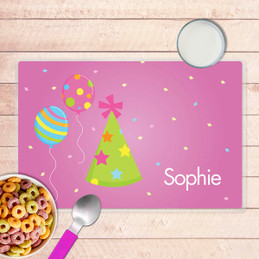 Sweet Bday Girl Kids Placemat