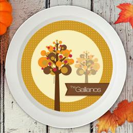 Fall Trees Holiday Bowl