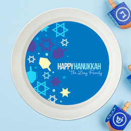 Hanukkah Wishes Holiday Bowl
