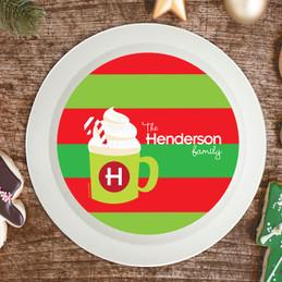 Yummy Hot Cocoa Holiday Bowl