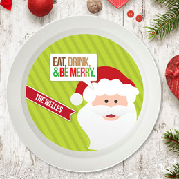 Eat, Drink & Be Merry Holiday Bowl