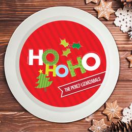 Ho Ho Xmas Here Holiday Bowl