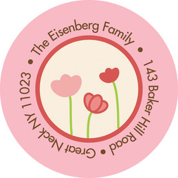Fun Address Labels - Tulips And Tulips Label