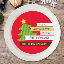 Feliz Navidad Holiday Bowl