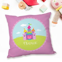 Pretty Heart Castle Pillows