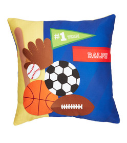 My Love For Sports Kids Pillows