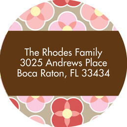 My Cute Bunny Baby Address Labels