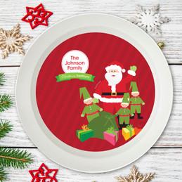 Santa's Tradition Holiday Bowl