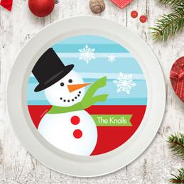 Mr. Snowman Holiday Bowl