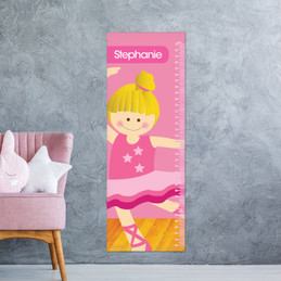 Ballerina Studio Kids Growth Chart