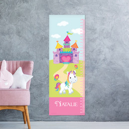 Pretty Heart Castle Kids Growth Chart