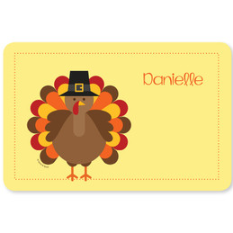 Hello Turkey Kids Placemat