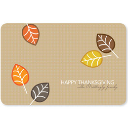 Autumn Leaves Holiday Placemat
