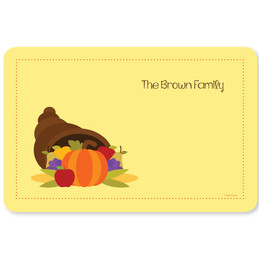 Here Comes Fall Holiday Placemat