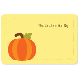 Ready for Pumpkin Holiday Placemat