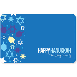 Hanukkah Wishes Holiday Placemat