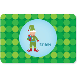 Cute Elf Boy Kids Placemat