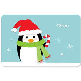 Hello Mr. Penguin Kids Placemat