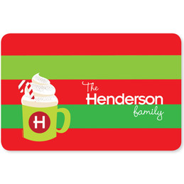 Yummy Hot Cocoa Holiday Placemat
