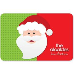 Mr. Santa Claus Holiday Placemat